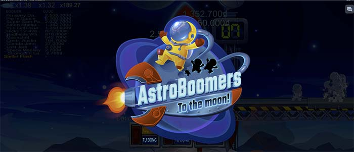 game Boom to the moon